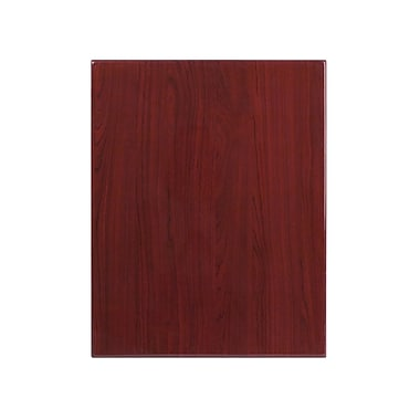 Flash Furniture 24'' x 30'' Rectangular Resin Table Top, Mahogany (TPMAH2430)