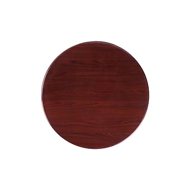 Flash Furniture 24'' Round Resin Table Top, Mahogany (TPMAH24RD)