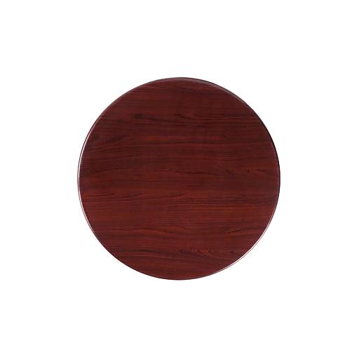 Flash Furniture 24'' Round Resin Table Top, Mahogany (TPMAH24RD)