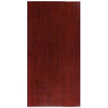 Flash Furniture 30'' x 60'' Rectangular Resin Table Top, Mahogany (TPMAH3060)
