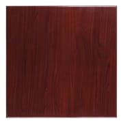 Flash Furniture 36'' Square Resin Table Top, Mahogany (TPMAH3636)