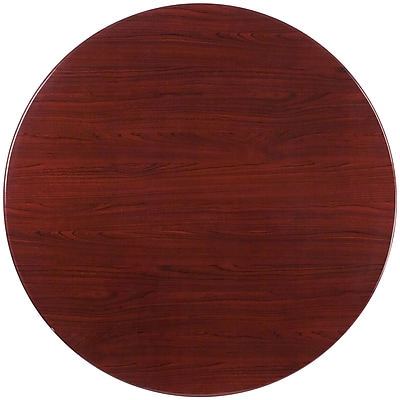 Flash Furniture 48'' Round Resin Table Top, Mahogany (TPMAH48RD) 1982621