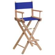 Flash Furniture Bar-Height Directors Chair, Blue (TYD01BL)