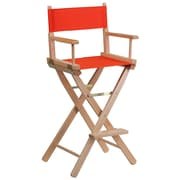 Flash Furniture Bar-Height Directors Chair, Red (TYD01RD)