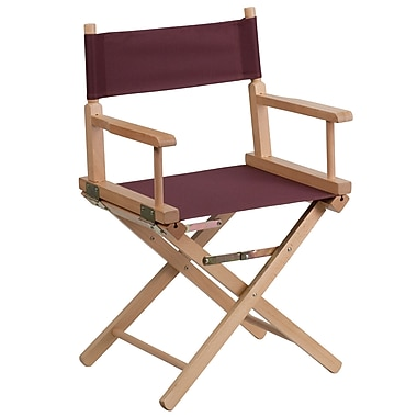 Flash Furniture Standard-Height Directors Chair, Brown (TYD02BN)