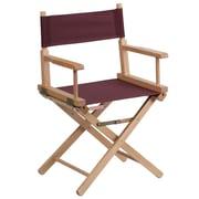 Flash Furniture Standard-Height Directors Chair, Brown (TYD02BN)