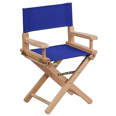 Flash Furniture Kid-Size Directors Chair, Blue (TYD03BL)