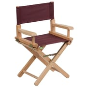 Flash Furniture Kid-Size Directors Chair, Brown (TYD03BN)