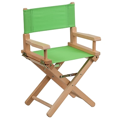 Flash Furniture Kid-Size Directors Chair, Green (TYD03GN)