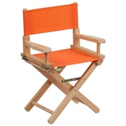 Flash Furniture Kid-Size Directors Chair, Orange (TYD03OR)