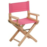 Flash Furniture Kid -Size Directors Chair, Pink (TYD03PK)