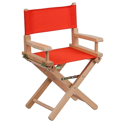Flash Furniture Wood Directors, Red (TYD03RD)