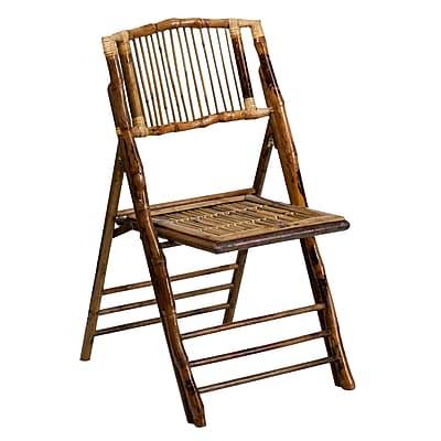 Flash Furniture American Champion Bamboo Folding Chair (X62111BAM)