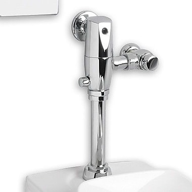 American Standard Afwall System Selectronic Exposed AC Toilet Flush Valve w/ Everclean