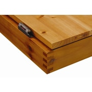 GLD Products Viper Metropolitan Oak Steel-Tip Dartboard Cabinet