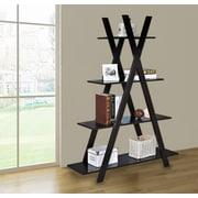Jeco Inc. 59'' Accent Shelves Bookcase