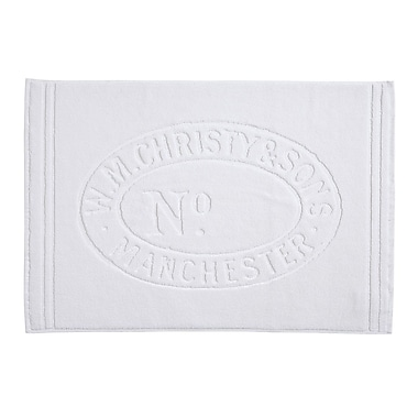 Christy Heritage Tub Mat; Almond