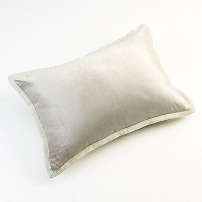 Christy Horizon Throw Pillow; Oyster