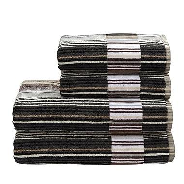 Christy Supreme Capsule Stripe Wash Cloth; Neutral
