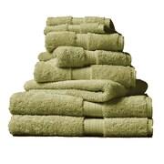 Christy Classic Renaissance Wash Cloth; Green Fern