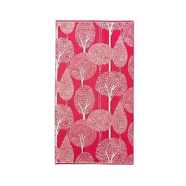 Christy Silhouette Cotton Bath Towel; Berry