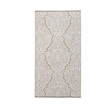 Christy Venezia Cotton Bath Towel; Stone