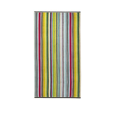 Christy Barcode Bath Sheet; Harlequin Multi