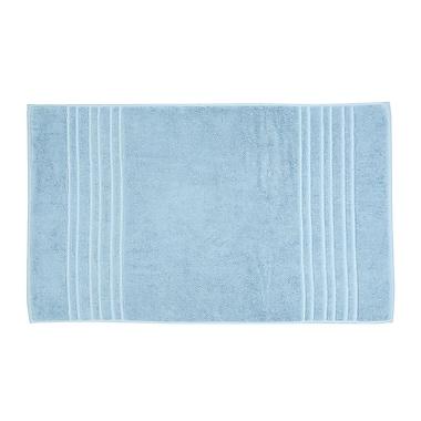 Christy Renaissance Bath Mat; Soft Chambray