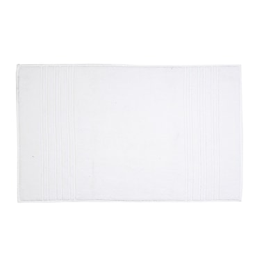 Christy Renaissance Bath Mat; White