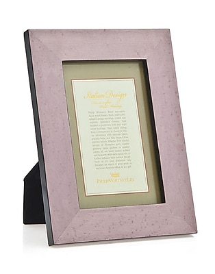 Philip Whitney Marquetry Picture Frame; Lavender WYF078277890286