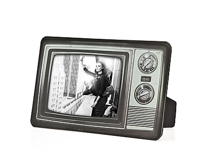 Philip Whitney Retro Television Picture Frame; 4'' H x 6'' W WYF078277890295