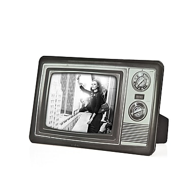 Philip Whitney Retro Television Picture Frame; 4'' H x 6'' W