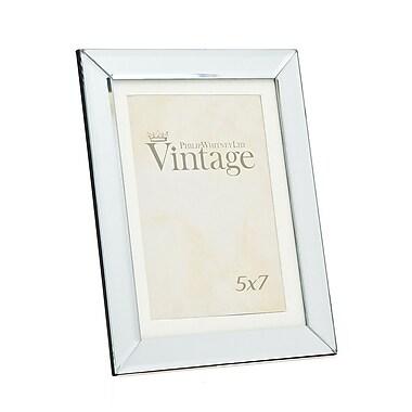 Philip Whitney Plain Vintage Mirror Picture Frame; 5'' x 7''