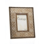 Philip Whitney Vintage Scroll Picture Frame; 4'' x 6''
