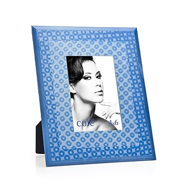 Philip Whitney 3D Circles Picture Frame; Blue