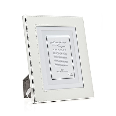 Philip Whitney Fine Bead Picture Frame; 5'' x 7''