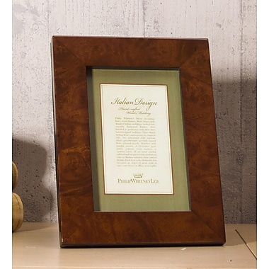 Philip Whitney Wood Picture Frame; 4'' x 6''