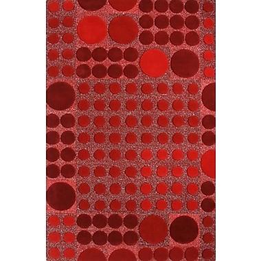 Dynamic Rugs Allure Red Allurerary Rug; 4' x 6'