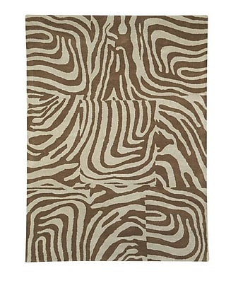 Dynamic Rugs Nolita Beige / Natural Contemporary Rug; Rectangle 6'7'' x 9'6''