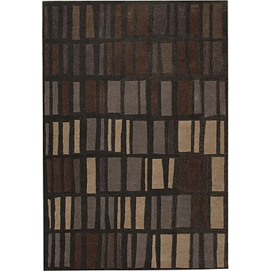 Dynamic Rugs Odyssey Charcoal Rug; Rectangle 8' x 11'