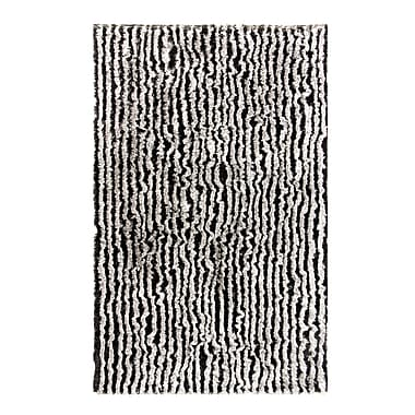 Dynamic Rugs Safari Ivory/Silver Rug; Rectangle 3' x 5'