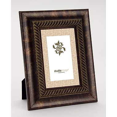 Philip Whitney Rope Rust Gold Picture Frame