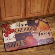 Sweet Home Collection Fruit Mat
