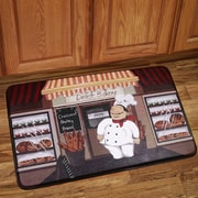 Sweet Home Collection Happy Chef Kitchen Mat