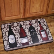 Sweet Home Collection Wine Bottles Mat