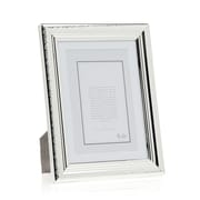 Philip Whitney Etched Border Picture Frame; 5'' x 7'' Without Mat/4'' x 6'' With Mat
