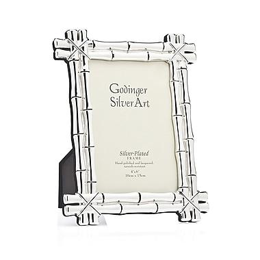 Philip Whitney Godinger Bamboo Picture Frame; 4'' x 6''