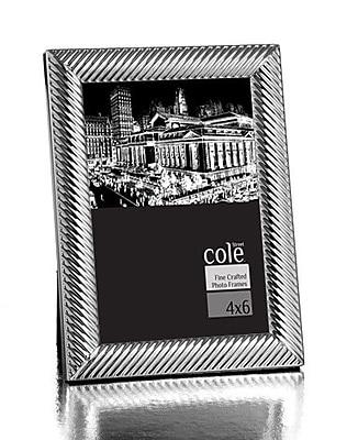 Philip Whitney Diagonal Design Picture Frame; 4'' x 6'' WYF078277890109