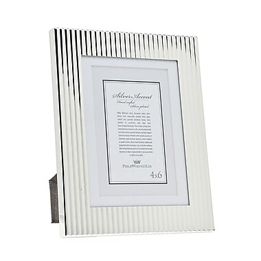 Philip Whitney Fluted Picture Frame; 5'' x 7''