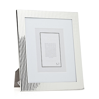 Philip Whitney Fluted Picture Frame; 8'' x 10''